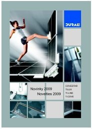 Novinky 2009 Novelties 2009 - Stavnet.cz