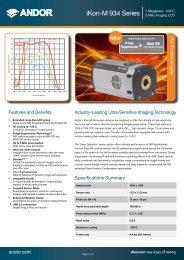 iKon-M 934 - Andor Technology