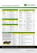 Genuine John Deere tractor parts - New Zealand - Seite 2