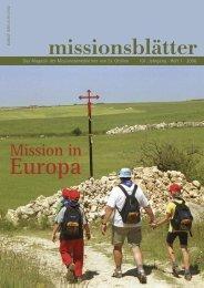 3. Preis - Missionsprokura - Erzabtei St. Ottilien