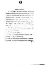Svolgimento del processo - Corte Suprema di Cassazione