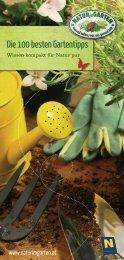 Der 101. Tipp - Natur im Garten