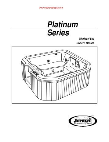 Platinum Series Spas