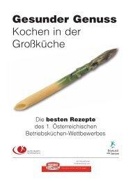 Gesunder Genuss - Fonds Gesundes Österreich