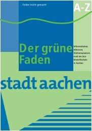 Grünen Faden - Stadt Aachen