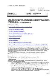 46/10 201003291 klage på bygningssjefens vedtak i d sak 976/2010 ...