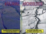 přednáška 8-9 - Katedra archeologie