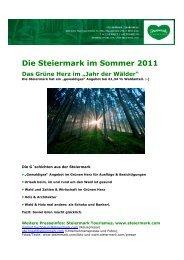 4 Jahr der Wälder - Presse - Steiermark