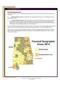 Favored Geographic Areas - Page 2