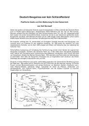 Deutsch-Neuguinea war kein Schlaraffenland - Golf Dornseif