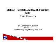 Making Hospitals Safe - CAPWIP