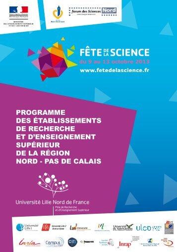 Programme des établissements de recherche et d'enseignement ...