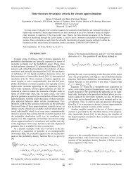 Time-structure invariance criteria for closure ... - ETH Zürich