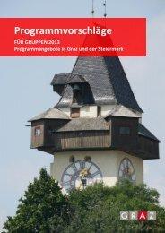 Programmvorschläge - Graz Tourismus