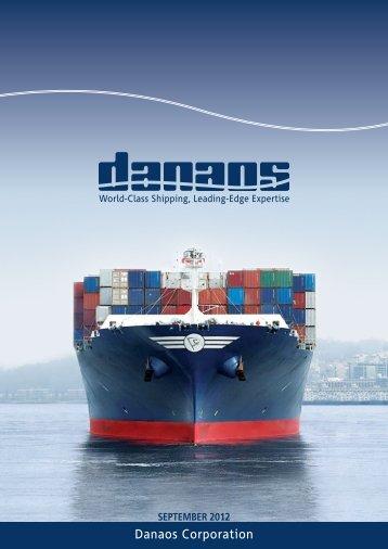 as of June 30, 2012 - Danaos Corporation - Investor Relations