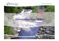 Småskalig vattenkraft