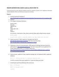 MEZON SEOWON SWU-3220A modemo LINUX HOW-TO