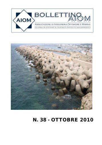 N. 38 - OTTOBRE 2010 - Bollettini AIOM