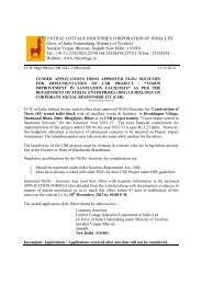 Tender Document For Wood works / supply and installation of