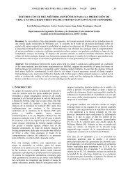 estudio con ef del método asintótico para la predicción de vida a ...
