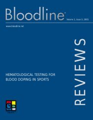 hematological testing for blood doping in sports - Carden Jennings ...