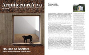 houses as shelters arquitectura viva