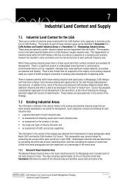 Industrial Land Context and Supply - Coffs Harbour City Council