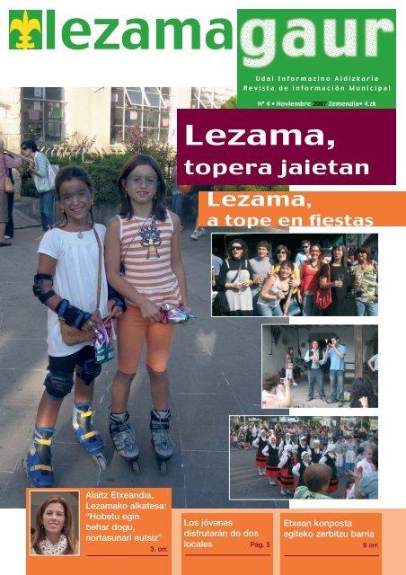 Nueva Corporación Municipal - Lezamako Udala