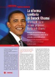 la riforma sanitaria di barack obama