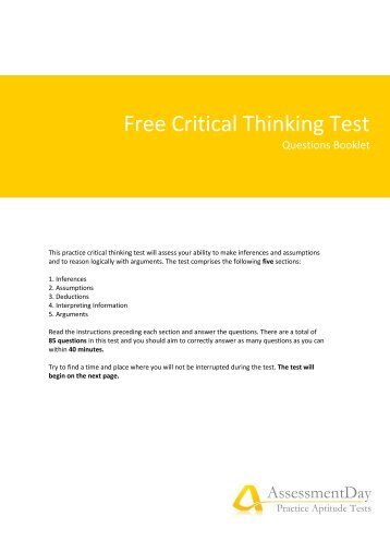 Free Career Aptitude and Career Assessment Tests