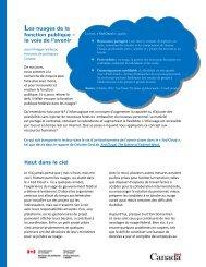 Version PDF (435 KB, 3 pages) - Horizons de politiques
