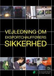 Vejledning om eksportchaufføres sikkerhed - BAR transport og engros