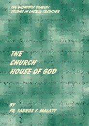 CHURCH HOUSE OF GOD - Pope Kirillos Scientific Family