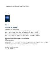 Scholz, GmbHG, 10. Auflage - Leseprobe - Verlag Dr. Otto Schmidt