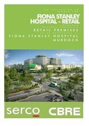 FIONA STANLEY HOSPITAL - RETAIL