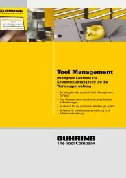 Tool Management - Gühring oHG
