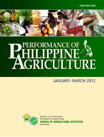 BUREAU OF AGRICULTURAL STATISTICS - Philippines Bureau of ...