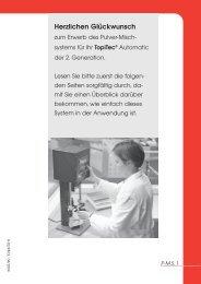 TOPITEC ® Pulvermisch-System