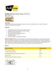 61-500 - Soft-Seat Check Valves (1/4