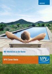 Mit Weitblick in die Rente VPV Clever-Rente