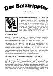 Vereinszeitung Nov 2006.pdf - Förderkreis Rumbach eV
