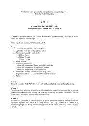 Zápis z 2. zasedání dne 15.3.2007 - vúgtk
