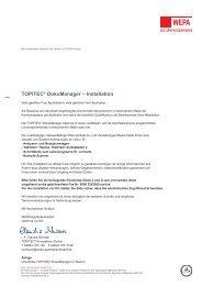 TOPITEC® DokuManager - WEPA Apothekenbedarf GmbH & Co KG