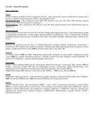 Case IH – Puma 180 Standard Dane techniczne: Silnik ... - Tech-Kom