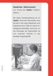 TopiTec® Defektur-System