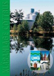 Kläranlage Cottbus - LWG Lausitzer Wasser