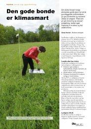 Den gode bonde er klimasmart - Fagbladet Økologisk Landbruk