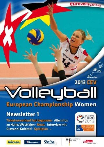 Newsletter 1 European Championship Women