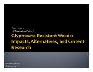 2011 Hanson_ Glyphosate Resistant Weeds
