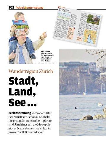 Wanderregion Zürich